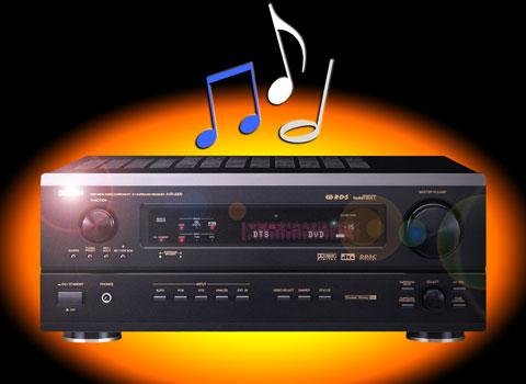 Fixing Denon AVR-3300 A/V receiver audio glitches